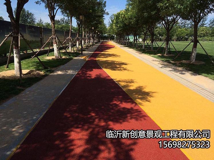 彩色防滑路面的使用价值!