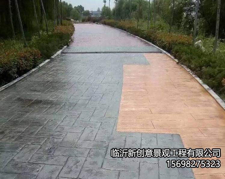 压模地坪基层路面的处理方法!