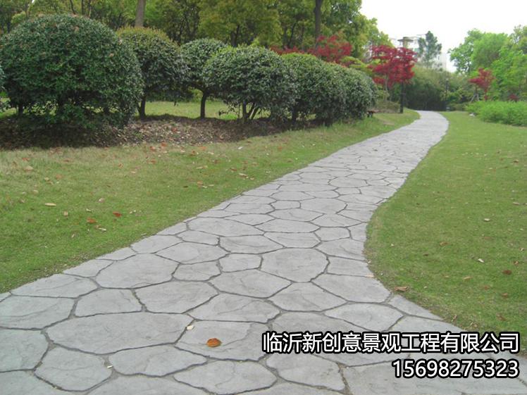 印花地坪的好处你知道吗?