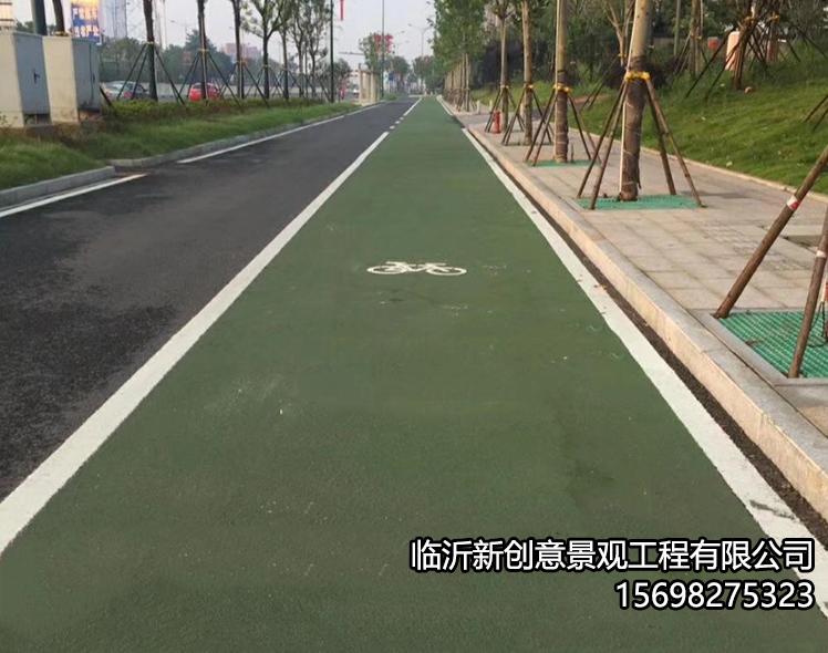 彩色防滑路面的优异性能